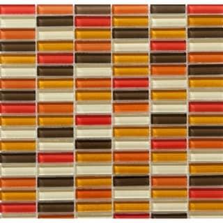 Martini Mosaic Aria Mediterranean Sun 12 x 11.75-inch Tile (Set of 10 Sheets)