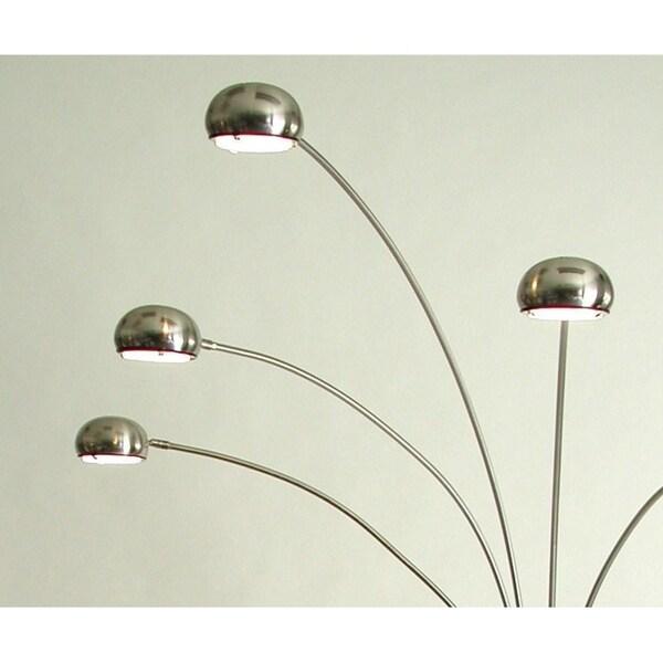 Mushroom 5-light Halogen Arc Floor Lamp