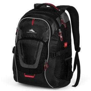 High Sierra AT7 Computer Backpack Black