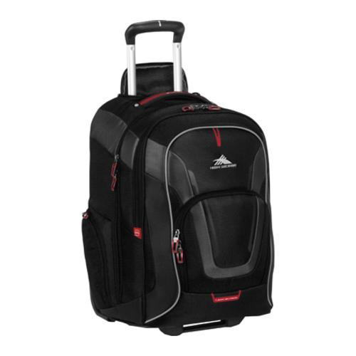 High Sierra AT7 Wheeled Computer Backpack Black Free Shipping