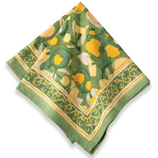 Couleur Nature Fruit Napkins (Set of 6) (Option: Yellow)