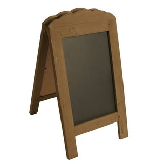 Wald Imports 15-inch Easel Chalkboard Display Sign