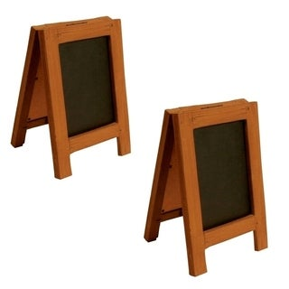 Wald Imports Chalkboard Display Sign (Set of 2)