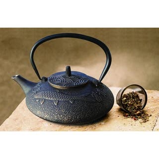 Black and Copper Koi 38-ounce Teapot|https://ak1.ostkcdn.com/images/products/9505980/P16686182.jpg?impolicy=medium