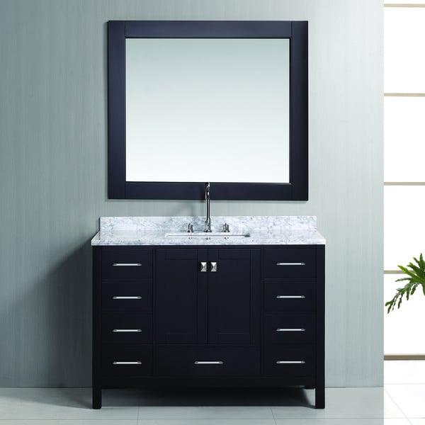 Shop Design Element London 48 Inch Espresso Single Sink