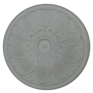 23-inch Round Flower Ceiling Medallion