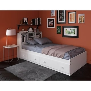 Kansas Twin Size Platform Storage Bed