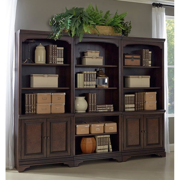 Drake 3-piece Bookcase Wall
