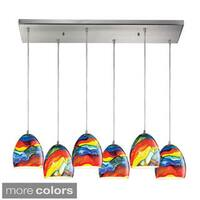 Elk Lighting Colorwave 6-light Chandelier