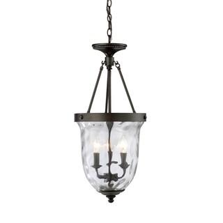 Elk Lighting Yorkville 3-light Oiled Bronze Lantern