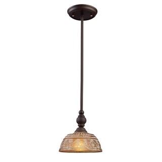 Elk Lighting Norwich 1-light Oiled Bronze Pendant