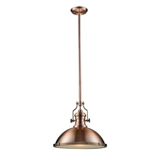 Elk Lighting Chadwick 1-light Antique Copper Pendant
