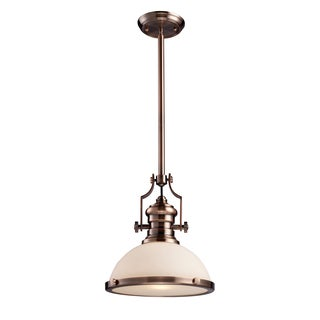 Elk Lighting Chadwick 1-light Antique Copper Hanging Light