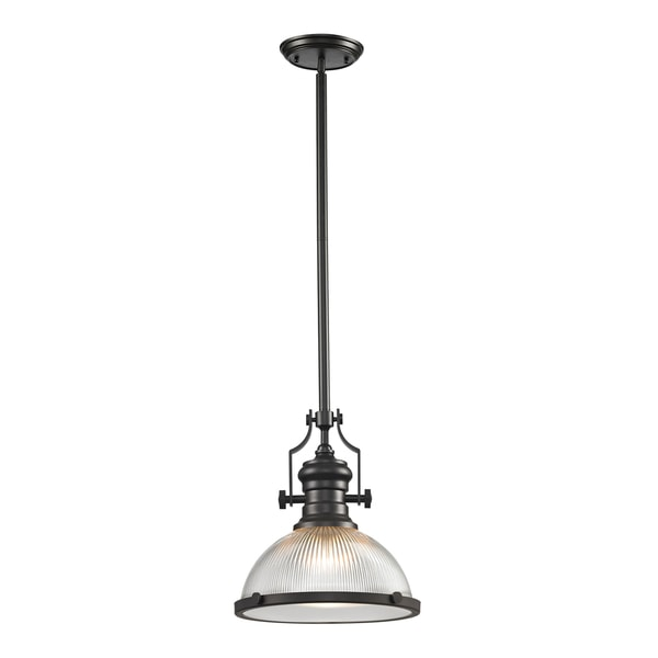 Elk Lighting Chadwick Pendant: Elk Lighting Chadwick 1-light Oil Rubbed Bronze Pendant