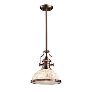 Elk Lighting Chadwick Antique Copper 1-light Pendant