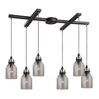 Elk Lighting Danica Oil-rubbed Steel 6-light Chandelier