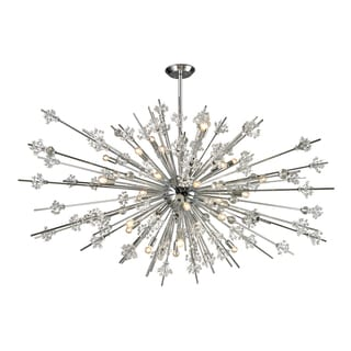 Elk Lighting Starburst 31-light Polished Chrome Chandelier