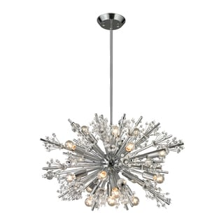 Elk Lighting Starburst 19-light Polished Chrome Chandelier