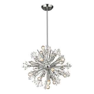 Elk Lighting Starburst 15-light Polished Chrome Chandelier