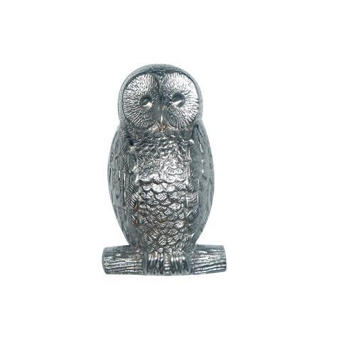 Highpoint Collection Satin Nickel 5-inch Owl Door Knocker