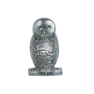 Highpoint Collection Satin Nickel 5-inch Owl Door Knocker