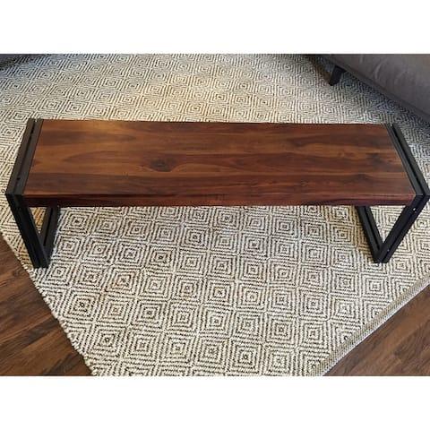 Handmade Timbergirl Reclaimed Sheesham Wood Bench (India)