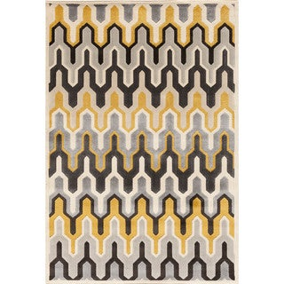 Somette Paris Citron Torrance Pearl Area Rug (7'10 x 9'10)
