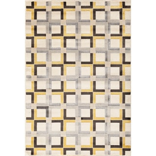 Somette Paris Citron Declan Pearl Area Rug (7'10 x 9'10)