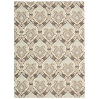 Waverly Treasures Dress Up Damask Birch Area Rug by Nourison - 8' x 10'