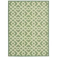 Waverly Treasures Artistic Twist Moss Area Rug by Nourison - 5' x 7'