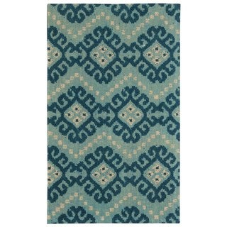 Waverly Color Motion Kurta Ember Prussian Area Rug by Nourison (2'3 x 3'9)