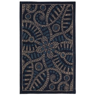 Waverly Color Motion Belle Of The Ball Delft Area Rug by Nourison (2'3 x 3'9)