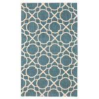 Waverly Color Motion Perfect Fit Teal Area Rug by Nourison (2'3 x 3'9)