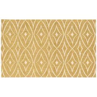 Waverly Color Motion Centro Gold Area Rug by Nourison (2'3 x 3'9)