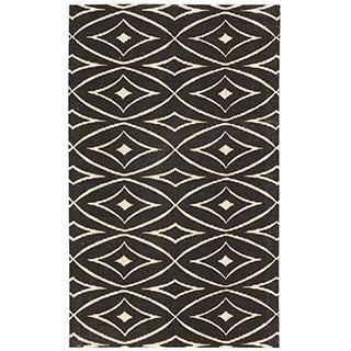 Waverly Color Motion Centro Black Area Rug by Nourison (2'3 x 3'9)