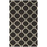 Waverly Color Motion Ferris Wheel Black Area Rug by Nourison - 2'3 x 3'9