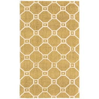 Waverly Color Motion Ferris Wheel Gold Area Rug by Nourison (2'3 x 3'9)