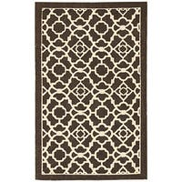 Waverly Color Motion Lovely Lattice Walnut Area Rug by Nourison