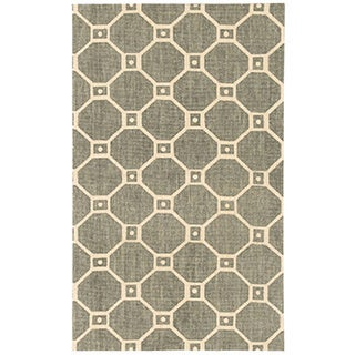 Waverly Color Motion Ferris Wheel Stone Area Rug by Nourison (2'3 x 3'9)