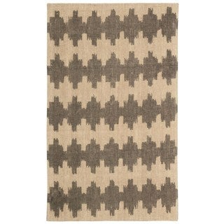 Waverly Color Motion Brushworks Early Grey Area Rug by Nourison (5' x 7') - 5' x 7'