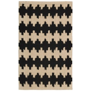 Waverly Color Motion Brushworks Licorice Area Rug by Nourison (5' x 7')