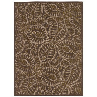 Waverly Color Motion Belle Of The Ball Fog Area Rug by Nourison (5' x 7')