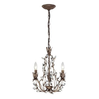 Elk Lighting Home Sagemore Bronze Rust 3-light Chandelier