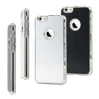 Gearonic Luxury Aluminum Metal Hard Back Cover Case for Apple iPhone 6