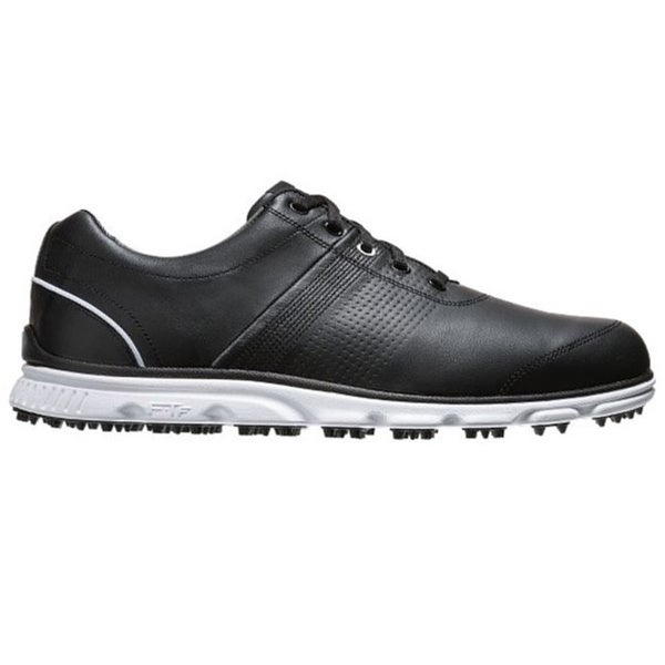 FootJoy Men's Dryjoy Casual Spikeless Black-White Golf Shoes