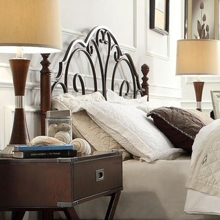 LeAnn Brown Metal Headboard By INSPIRE Q Classic