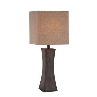 Lite Source Enkel 1-light Table Lamp Dark Walnut