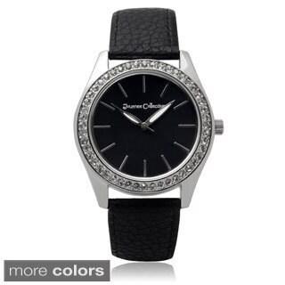 Journee Collection Women's Rhinestone Quartz Watch