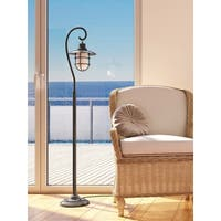 Lite Source Lanterna 1-light Floor Lamp Antique Brass