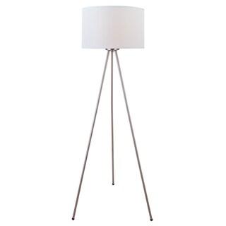 Lite Source Tullio 1-light Floor Lamp Polished Steel
